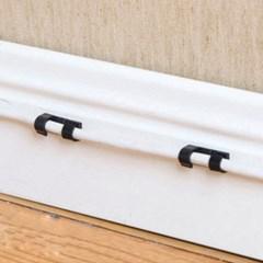 컴퓨터 케이블 선 정리 클립 고정 홀더 20p