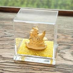 황금 재복 주물 미니 마우스 3종