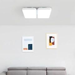 리메인 LED 거실등 100W(2+2)