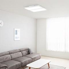 플레인 슬림 LED 거실등 120W(2+2)