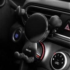 세비즈 초고속 차량용 스마트폰 무선충전기 CR1