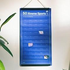 [도이] 50가지 익스트림 스포츠 챌린지 포스터_(2952937)
