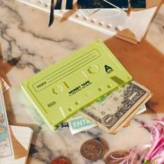 [도이] 휴대용 동전지갑 미니 파우치 카세트 옐로우_(2952932)