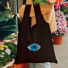 [도이] 휴대용 장바구니 접이식 시장가방 눈_(2952926)
