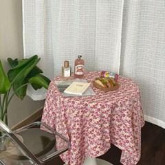 온더하이틴플라워핑크 식탁보 테이블보 2size 테이블러너