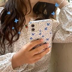 [뮤즈무드] my blue flower 아이폰케이스