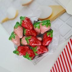딸기수저받침(4개세트)