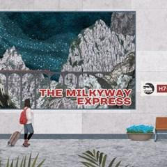 The Milkyway Express 일러스트 엽서