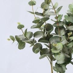 롱 유칼립투스조화 부쉬 / 유카리 나뭇잎 조화가랜드