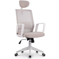 컴퓨터 책상 학생 의자 812 WHITE FRAME