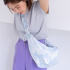 Crossiant Bag_Tie Dye Denim