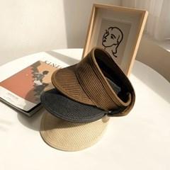 라탄 프린세스 썬캡 모자 3color