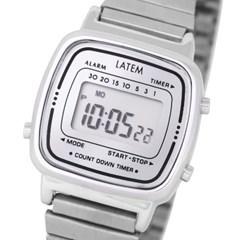 뉴트로 파스텔 디지털 시계_실버(AG2G0601DASS)