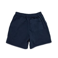 [BIGWAVE COLLECTIVE] SULFUR DYE EASY SHORTS (WASHED NAVY)