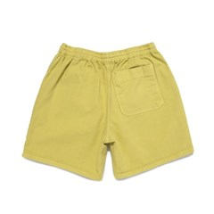 [BIGWAVE COLLECTIVE] SULFUR DYE EASY SHORTS (SUMMER LIME)