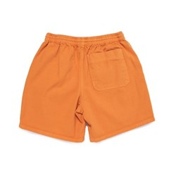 [BIGWAVE COLLECTIVE] SULFUR DYE EASY SHORTS (HOT ORANGE)