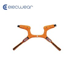 일렉웨어 LED 웨어러블 스피커 오렌지/블루투스스피커/스피커+방향등