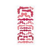 [스튜디오 퐁듀] pink ribbon 분홍리본 씰스티커