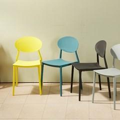 제이픽스 아이스틸 쳅터 디자인 까페 의자 / DY33S