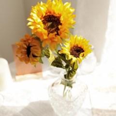 플르다 루씨 해바라기 인테리어 꽃 조화
