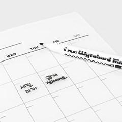마그네틱 먼슬리 보드 - 월간계획표 / 만년달력 / 냉장고자석