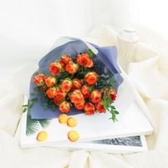 [아이라이너 장미] 알사탕처럼 작고 상큼한 장미꽃다발