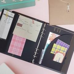 ICIEL 6공 paper pocket  keeper  A5 (2set)