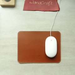 천연가죽 마우스패드 심플/ MousePad Simple [Burnt Oak]
