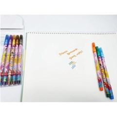 디즈니 프린세스 12색 싸인펜