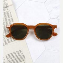 투디터 스퀘어 뿔테 남자 여자 선글라스