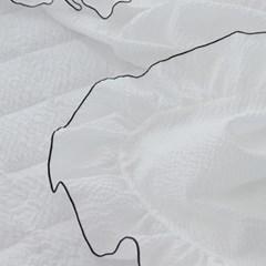썸머레이스 실크리플 여름 홑이불S (2color)