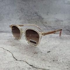 투명 블랙 컬러 뿔테 폴리카보네이드 선글라스 안경테