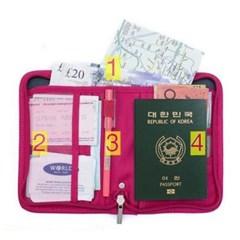 여행용 여권파우치 여권케이스 여권지갑 핸드폰 파우치