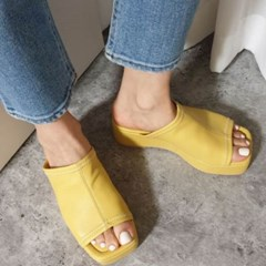 kami et muse Platform wedge heel slippers_KM20s144