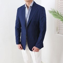 하객룩 여름 남성 여름 루즈핏 얇은 텐셀 레이온 정장 블레이저 자켓