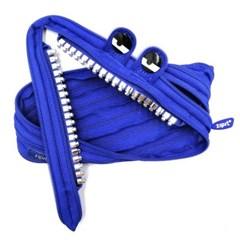 ZIPIT 집잇필통 이빨몬스터 파우치 그릴즈 블루