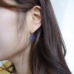 Lapis earring