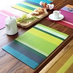 방수 테이블 매트 그린그레이프바인