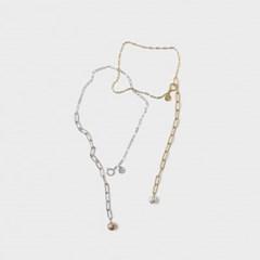 drop planet multi necklace