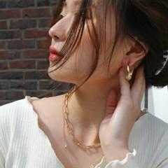 twist planet earring