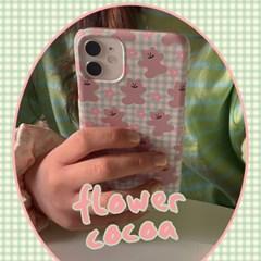 [뮤즈무드] flower cocoa 아이폰케이스