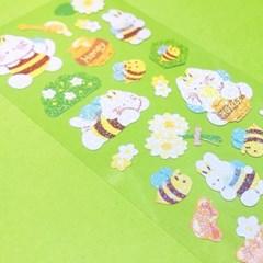 트윙클 꿀벌은 위잉위잉 칼선 스티커