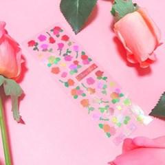 영롱한 Rosy Rose 칼선 스티커