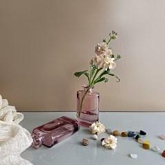 [화병] 위스키 블러썸 미니 꽃병 시약병 유리병
