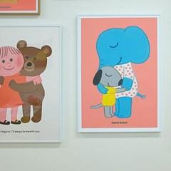 굴리굴리 포스터 / WARM HUG (037)