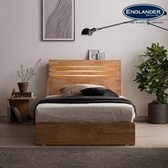 잉글랜더 포틀랜드 LED 원목 수납 침대(NEW E호텔 양모_(12742919)