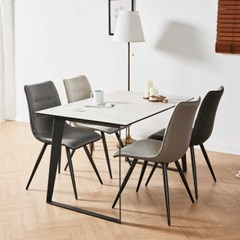 디센 제르마노 4인 세라믹식탁 뉴더블사이드 의자 세트_(11015091)