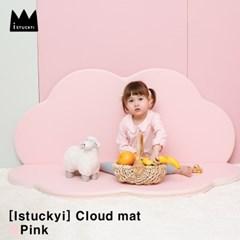 [istuckyi] 구름매트 핑크/크림핑크