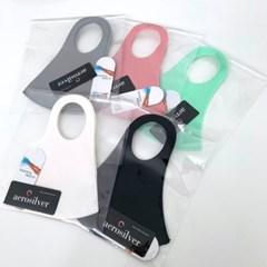공용 숨쉬기편한 얇은 매쉬 향균 3D 입체 운동 마스크