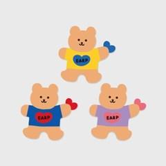 Bear heart-3color(커팅 스티커)_(1580655)